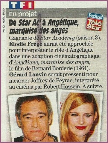 Cutting from French TV Times