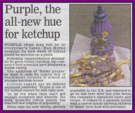 Purple Ketchup article