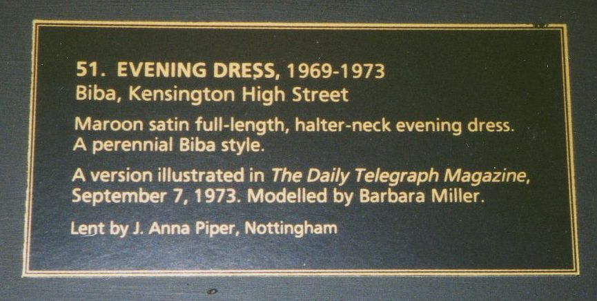 Description of Dress