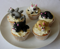 Cat Cup Cakes