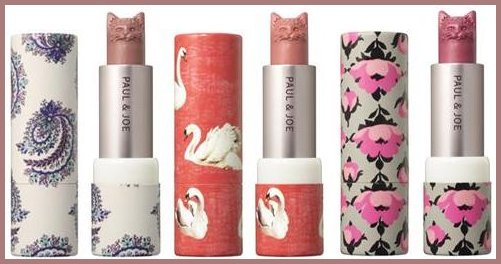 Set of lipsticks