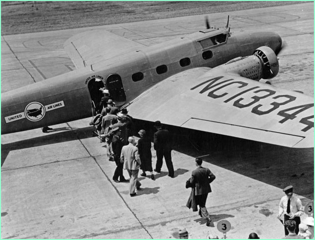 Boarding the Boeing 247