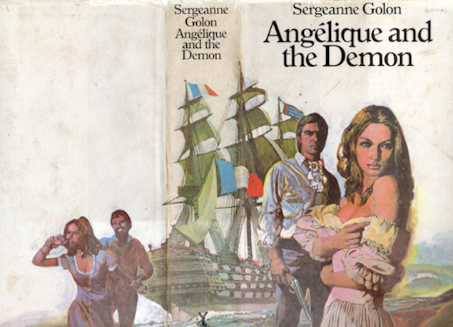 Angelique and the Demon illustrated by Johnson