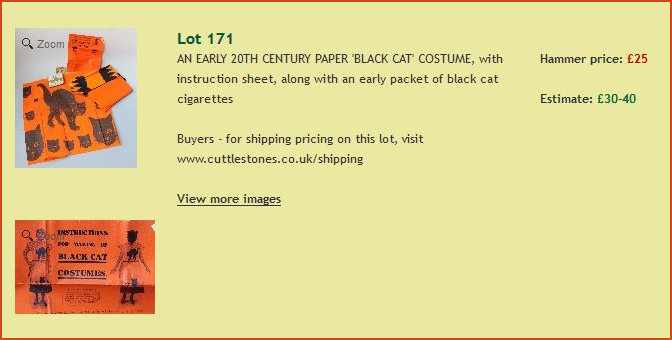 Lot 171 Black Cat Auction