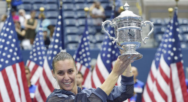 Flavia Pennetta wins US Open