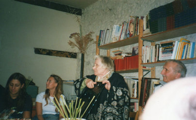 Anne Golon and group members 2000