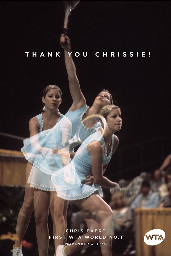 Chris Evert Nov 3 1975