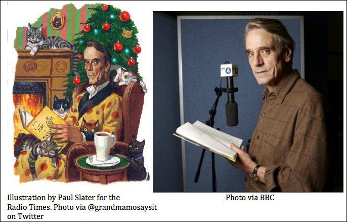 Jeremy Irons reads Cats for BBC Radio