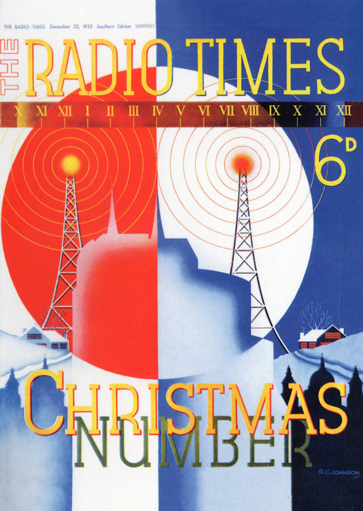 Christmas Edition Radio Times 1933
