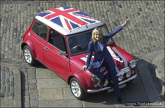 Twiggy and last ever mini