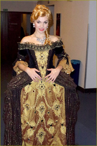Kamila playing Angelique in the Musical