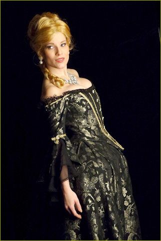 Michaela as Angelique in the musical