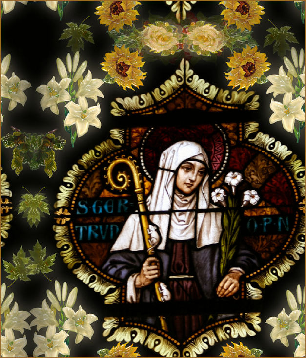 Portrait of St. Gertrude