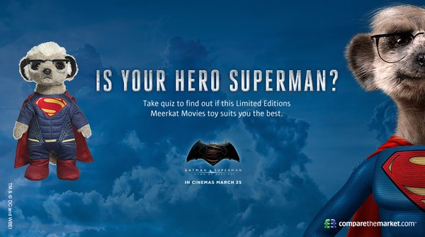 Superman hero poster