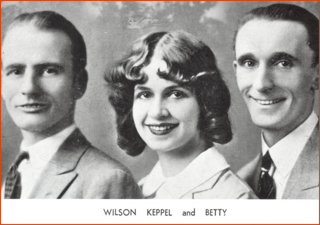 Wilson Keppel and Betty on 1929