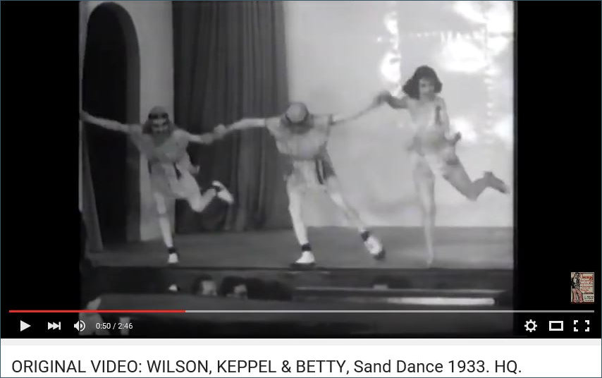 Wilson Keppel and Betty 1933 Sand Dance
