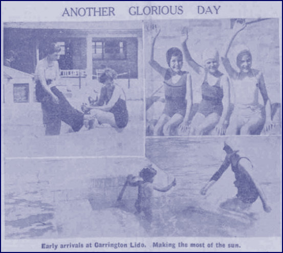 Swimmers 5th June 1939