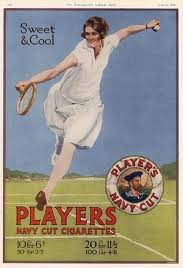 Ad for Players Cigarettes