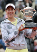 Garbine Muguruza 2016 French Champion