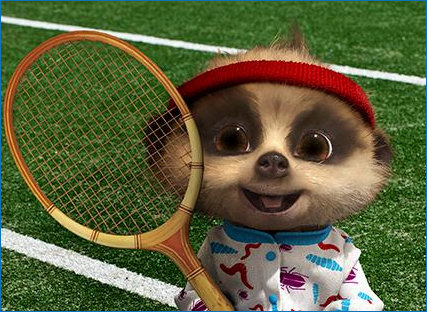 Smiley Tennis Oleg