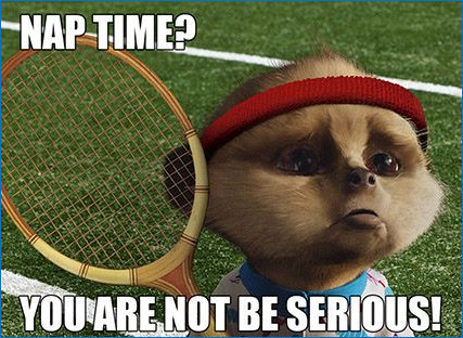Tantrum Tennis Baby Oleg