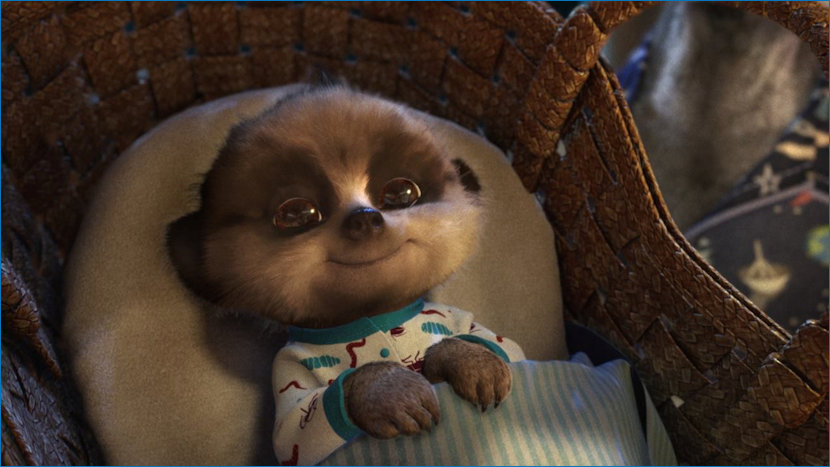 Oleg in his Moses Basket