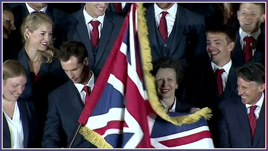 Princess Anne at the Olympics
