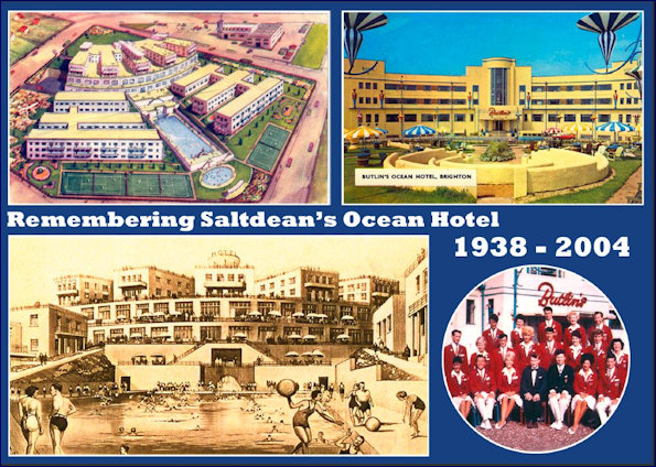 Tribute postcard to Ocean Hotel