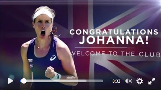 Johanna Konta on the brink of the Top 10