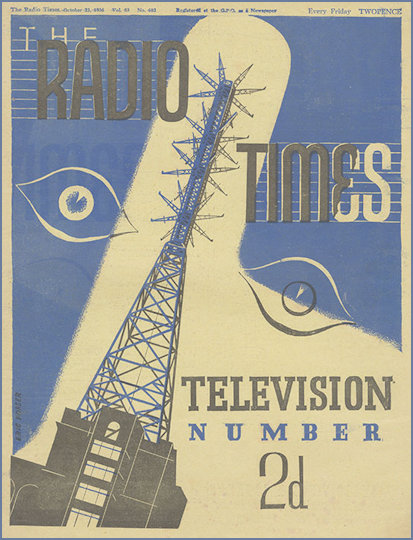 1936 Radio Times Cover