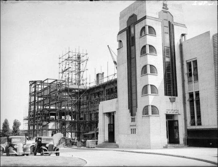 Hoover Building under construction