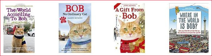 Selection of Bob the Cat books