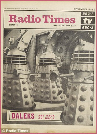 Radio Times with Doctor Who cover
