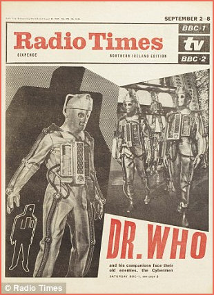 Radio Times featuring cyborgs