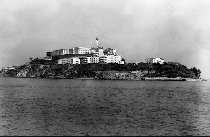 Alcatraz from the Sea