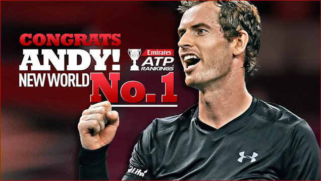 Andy Murray No. 1 Tribute