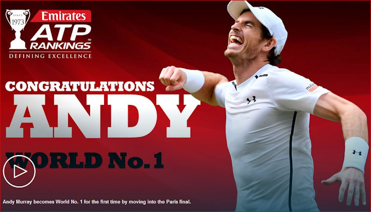 Andy Murray No. 1