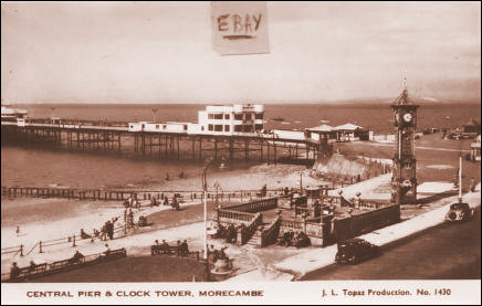 Central Pier and Clock Tower Morecambe