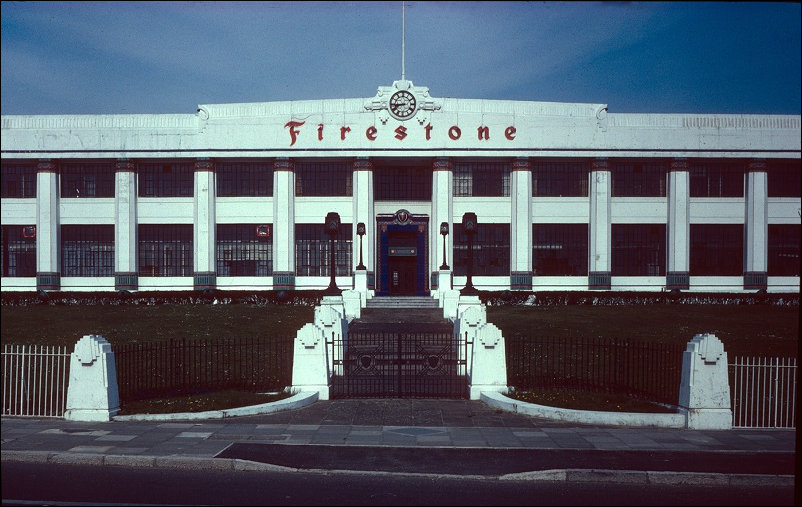 The Firestone Factory front elevation pre demolition