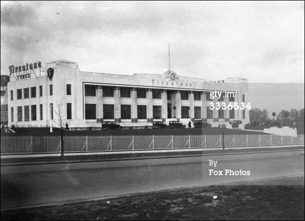 Early image of the Firestone factory