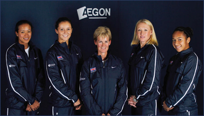 GB Fed Cup Team pre-2016
