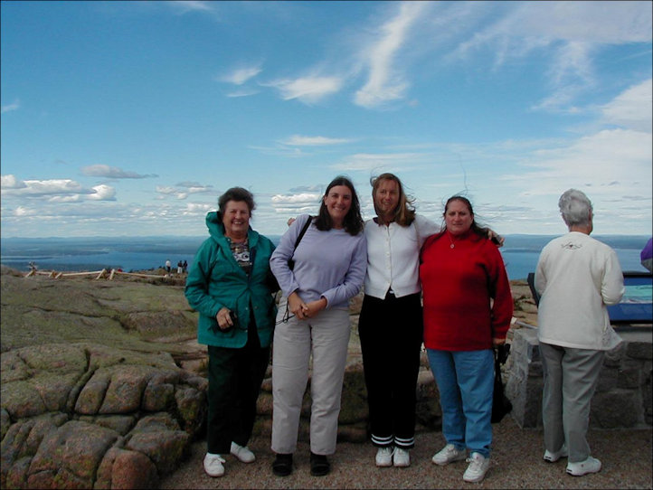 Friends of Angelique in Maine in 2001