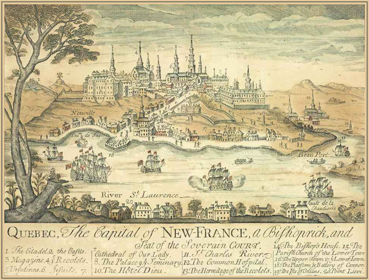 Quebec - Capital of New France