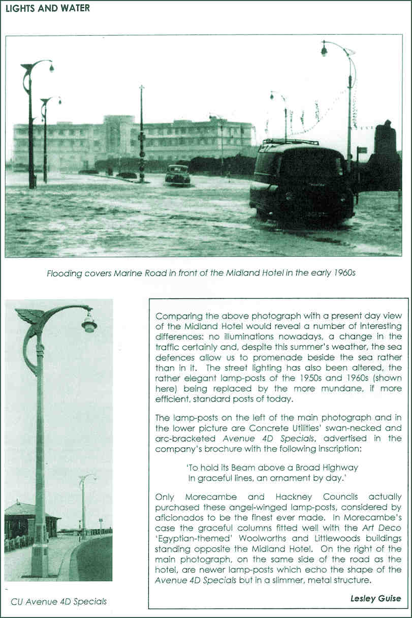 The Avenue 4D Specials street lighting from the 1950s