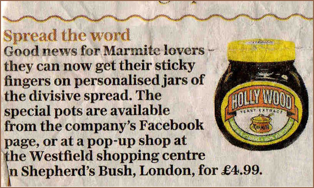 Marmite advertising personalisation