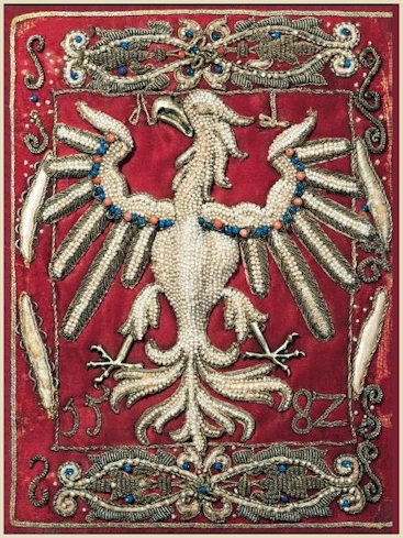 White Eagle, Polish national emblem as created by Queen Anna Jagiellonka