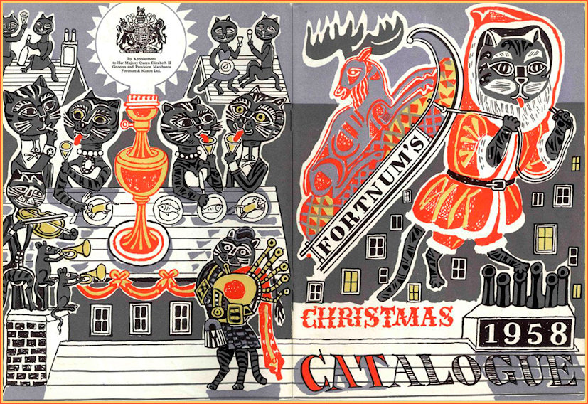 The 1958 Christmas catalogue for F&M by Bawden
