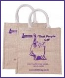 Purple Cat Bag