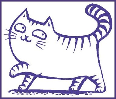 Purple Cat Logo
