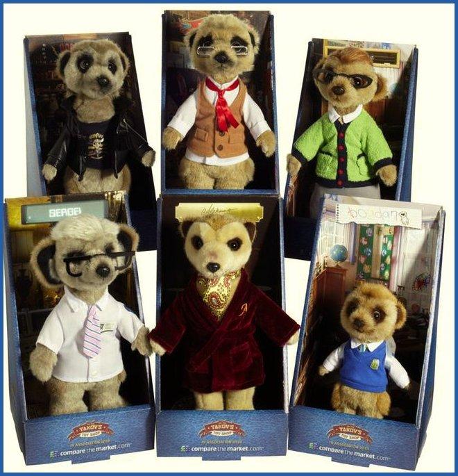 Sergei Meerkat Compare the Market toy